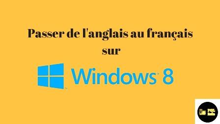 tutoriel qui explique comment changer l'interface de Windows 8