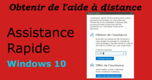 assistance ordinateur à disatnce